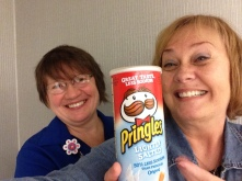 WIth Intake Clerk pringles