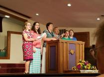 Weldy women singing