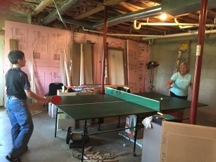 Grandma was good at ping pong, too.