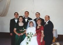 Chad and Stephanie's wedding