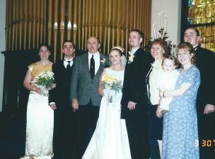 Scott and Jess' wedding